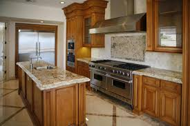 L Shaped Kitchens by L Shape Island Using Granite Countertop Stainless Steel Stove
