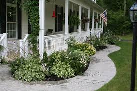 landscape for front porch google search garden pinterest