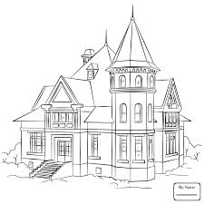 cottage house coloring pages for kids beautiful cottage houses arts culture