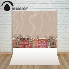 aliexpress com buy allenjoy photography backdrops snow winter