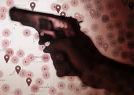 Crime Map Orlando by Gun Deaths Map How Many People Have Died Or Been Injured In