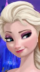 halloween cartoon makeup elegant smile princess elsa halloween frozen iphone 6 plus