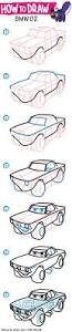how to draw cars step by step lightning mcqueen from disney