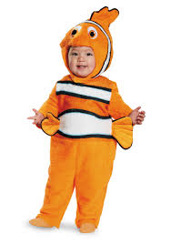 Halloween Costumes Infants 0 3 Months Prestige Infant Nemo Costume