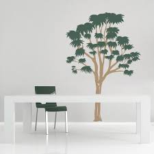 eucalyptus tree wall decal