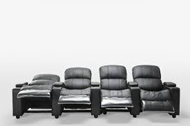 home theater recliner sophie brand new black leather 4 seater recliner home theatre