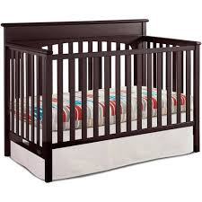 Espresso Convertible Cribs Graco 4 In 1 Convertible Crib Espresso Walmart