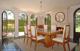 Kim Kardashian New Home Decor Celebrity Dining Rooms Home Bunch U2013 Interior Design Ideas