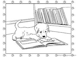 puppy coloring pages 5231 bestofcoloring