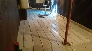 in floor heating basement review of radiant sole radiant floor heating experts homestars