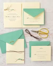 Love Bird Wedding Invitations Gold Foil Birds Print At Home Invitation Kit