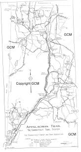 Appalachian Trail Massachusetts Map by Vinegar Wine