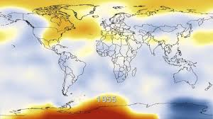 World Temperature Map Nasa Temperature Data 1880 2011 Youtube