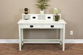 Small Wooden Writing Desk Furniture Vintage White Wooden Writing Desks For Small Spaces