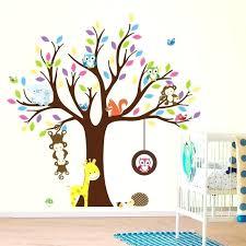 stickers animaux chambre bébé stickers chambre enfants stickers stickers muraux enfant arbre et