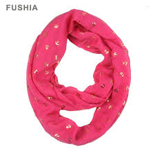 yc001 gold anchor infinity scarf wholesale scarves ponchos