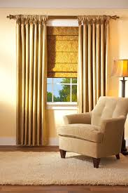 Roman Shades Over Wood Blinds Drapery Ventura Curtain Drapes California Window Drapery 93003