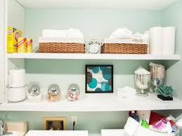 storage shelves with baskets 10 clever storage ideas for your tiny laundry room hgtv u0027s