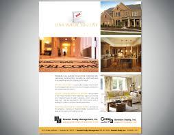 at home magazine ad cw design graphic and web design