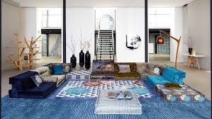 mah jong sofa kenzo takada designs home collection for roche bobois robb report
