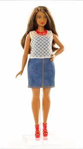 curvy barbie dolls barbie fashionistas curvy body type barbie