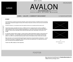Home Design And Restoration Web Design And Development Avalon Restoration Co Mark Anthony