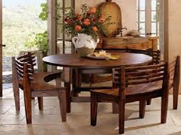 fresh round rustic kitchen table set best 25 dining ideas on