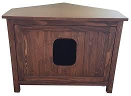 odor free corner cat litter box cabinet crazy cat lady supplies