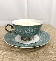 tea cup candle vintage tea cup candle soy wax tea cups to candles