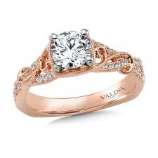 design jewelry rings images 14k pink gold engagement ring r9892p engagement rings from jpg
