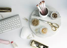 Silver Desk Accessories by Unexpected Desk Accessories Preciously Me