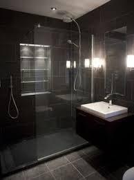black bathroom tile ideas black bathroom tile home interior design ideas