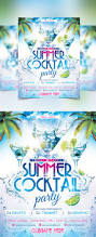 summer cocktail party flyer by twinart graphicriver