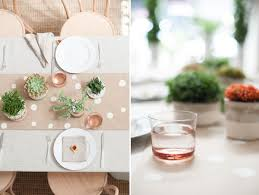 donna wilson inspired tablescape with diy planters brooklyn