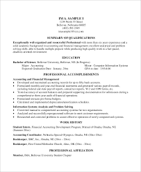 Ssrs Resume Samples by Sample Resume Computer Information Systems