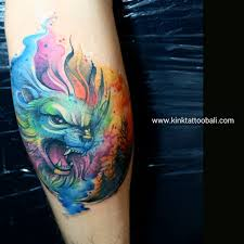 tattoo pictures color color tattoo kink tattoo bali