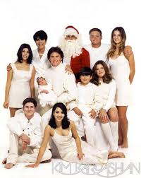 the 11 most absurd kardashian christmas cards huffpost