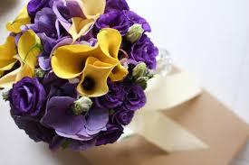 Renaissance Home Decor Yellow And Purple Flower Arrangements Purple And Yellow Wedding
