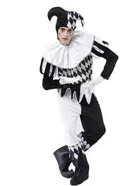 harlequin jester halloween costume jester costumes mega fancy