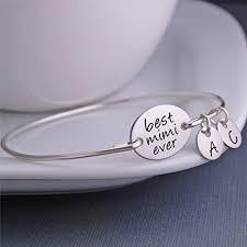 baby name bracelet best mimi personalized bangle bracelet christmas gift for