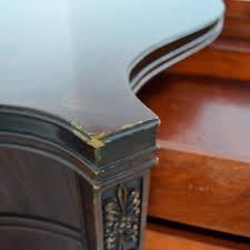61 Off 1940 U0027s Antique Flame Mahogany Four Drawer Dresser Storage