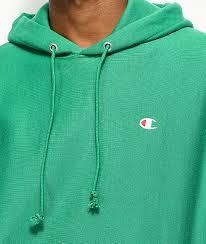 champion reverse weave kelly green hoodie zumiez