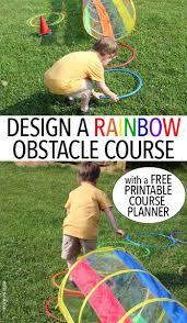 Backyard Obstacle Course Ideas Let Kids Build A Backyard Obstacle Course With Free Printables