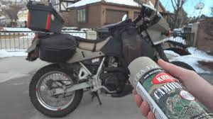 o o how to spray paint a klr 650 with krylon fusion and truck bed
