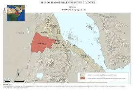 Eritrea Map Eritrean Post Crisis Rural Recovery And Development Programme