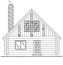 cabin plan 1 040 square feet 1 bedroom 1 bathroom 039 00050