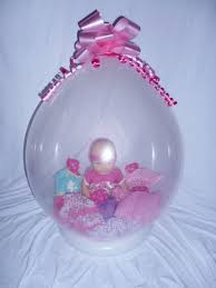balloons with gifts inside with 5 gift in a balloon doll balloon doll stuffed