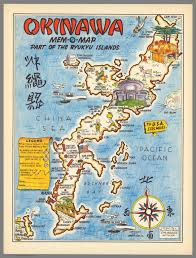Map Of Okinawa Okinawa Mem O Map Part Of The Ryukyu Islands David Rumsey