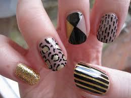 black and nail art gallery nail art designs