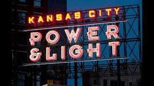 kansas power and light kansas city power light district night life youtube